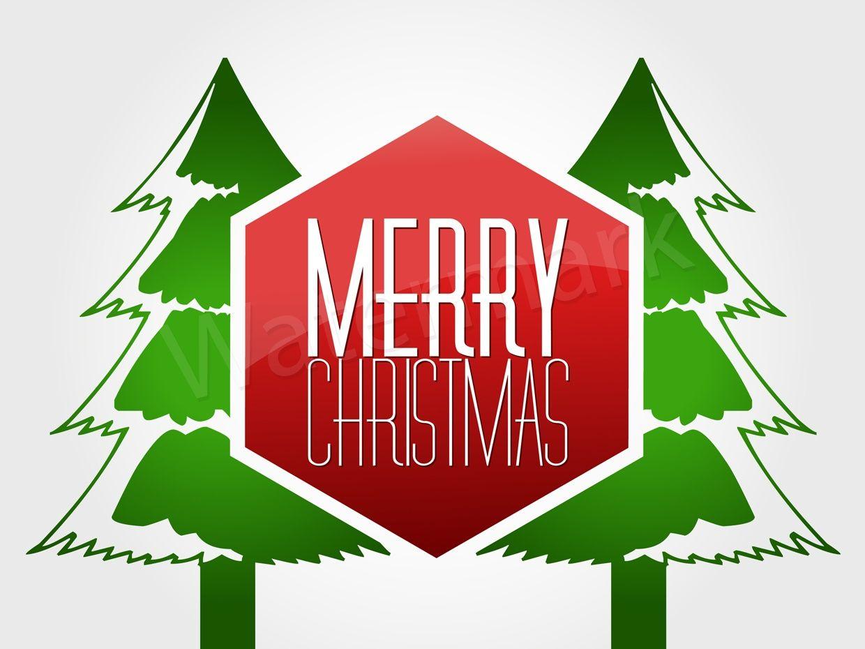 Merry Christmas Card (JPG & EPS file)