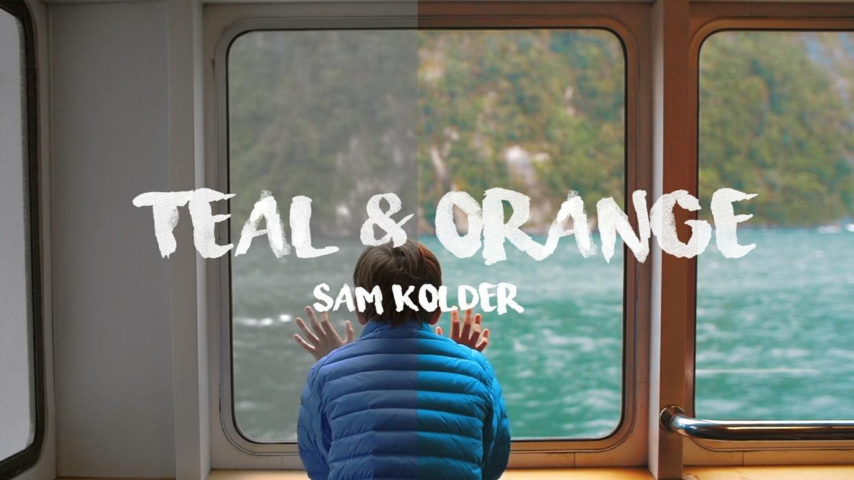 Teal and Orange ( Sam kolder ) LUT file