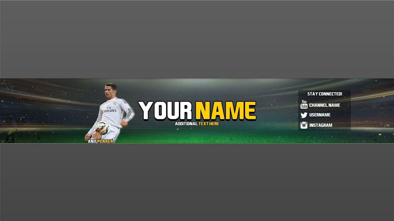 Fifa 15 Youtube Banner Template Ollzehh Sellfy Com