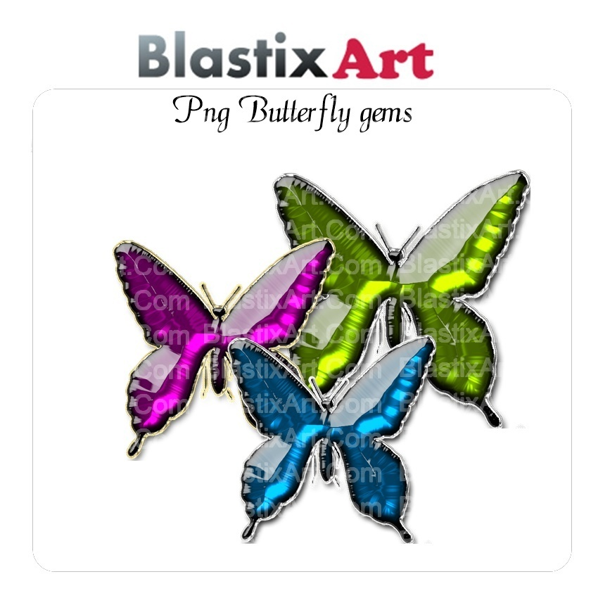 Png  Butterfly Gems