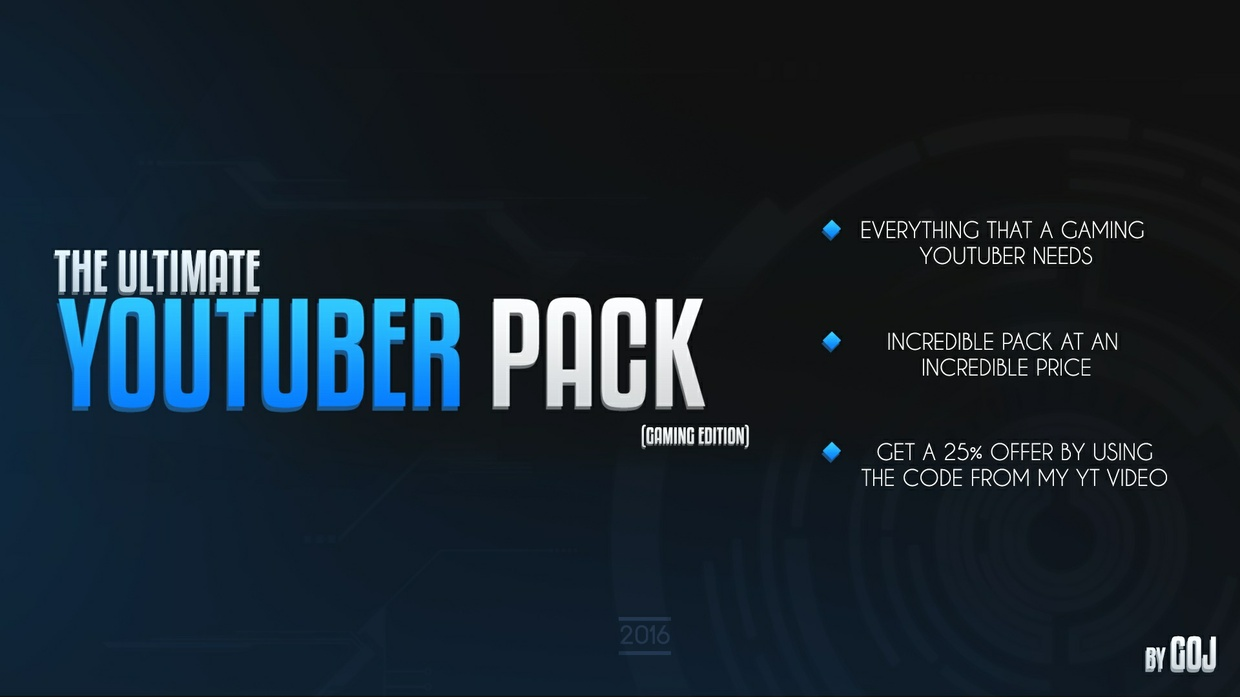 The Ultimate Youtuber Pack (Gaming Edition)
