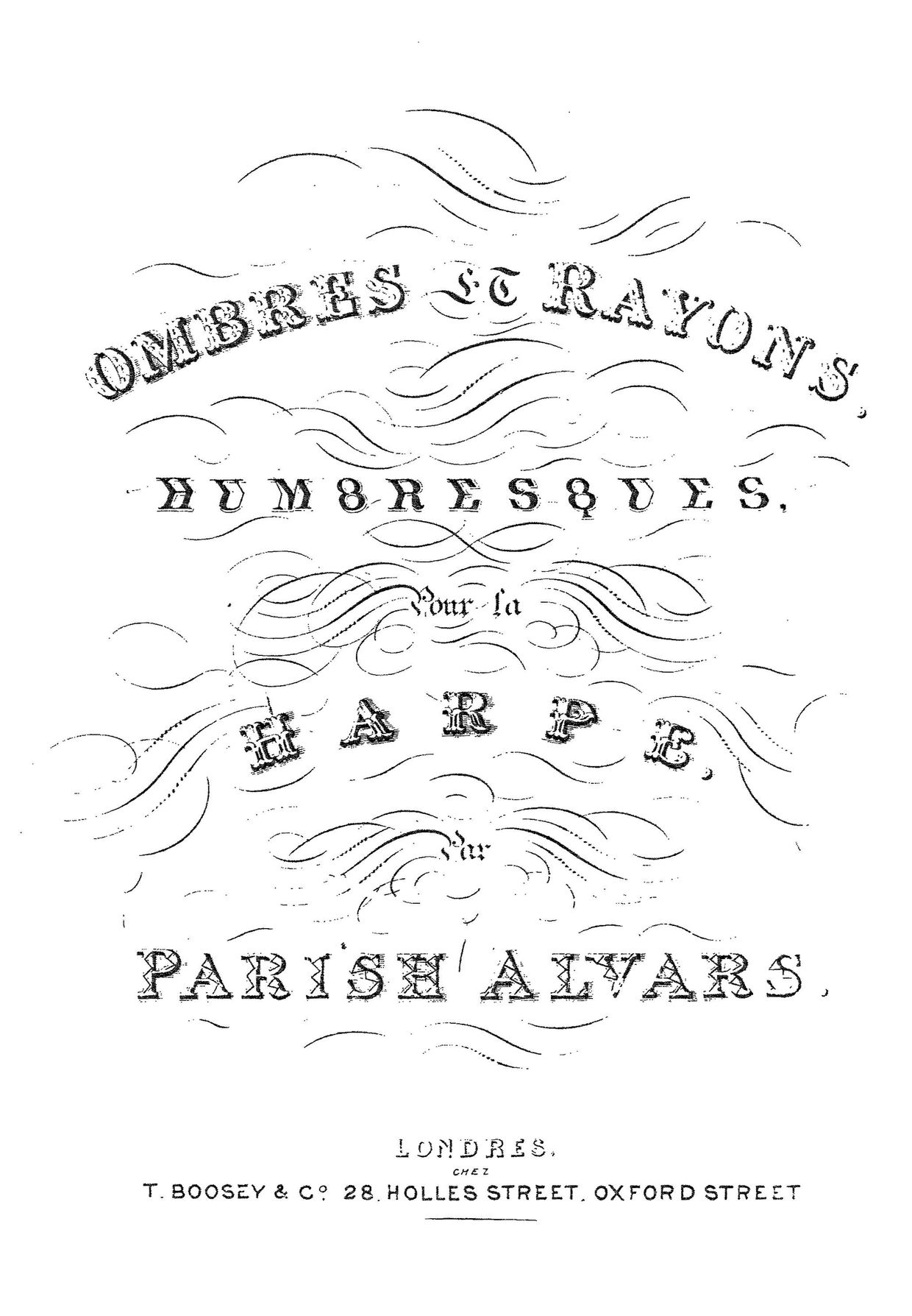Parish Alvars: Lights and Shadows (Ombres et Rayons)