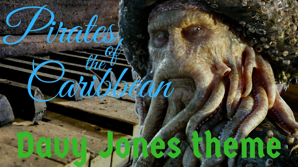 Pirates of the Caribbean - Davy jones theme - Piano Cover - Marco Tornatore