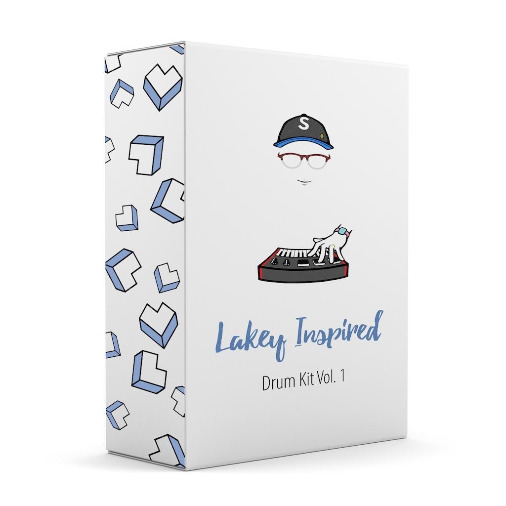 LAKEY INSPIRED Drum Kit Vol. 1