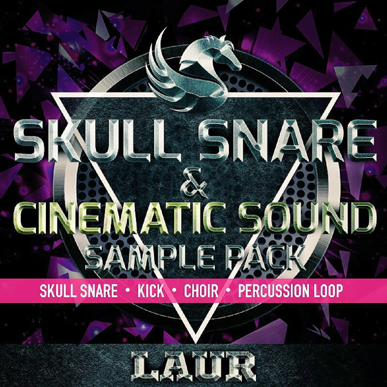 Laur Skull Snare & Cinematic Sound Sample Pack