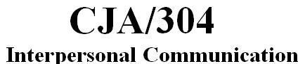 CJA 304 Week 5 Learning Team - Technical Communication Methods Paper