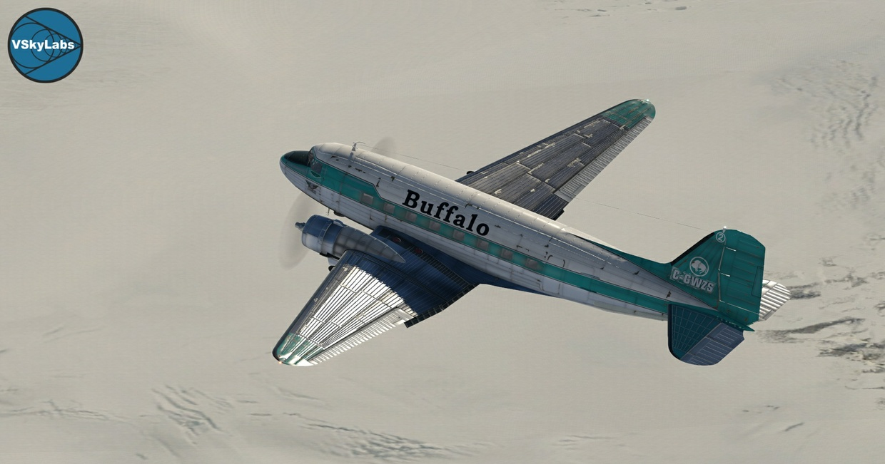 The VSKYLABS DC-3/C-47 Flying Lab Project v2.0