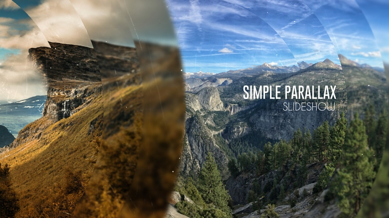 Template Parallax Slideshow sony vegas 12 13