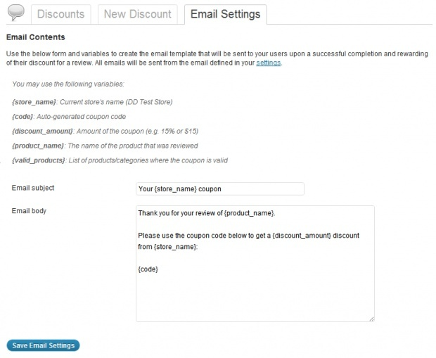 WooCommerce Review for Discount 1.6.3 Extension