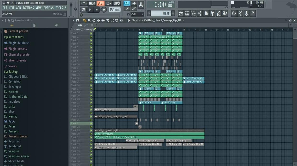 Future Bass Project 4 (+FLP)
