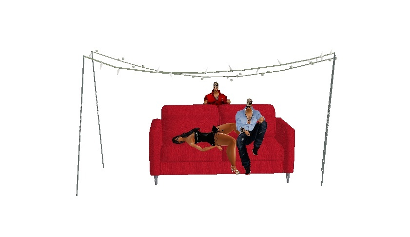 Mesh Couch [poses]