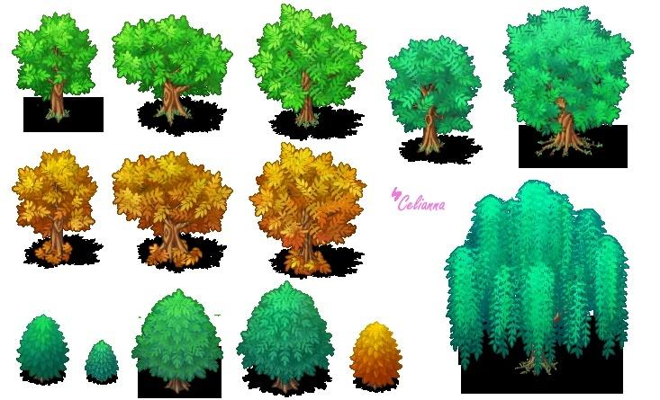 """Celianna's Parallax Tiles """"Trees 3"""""""
