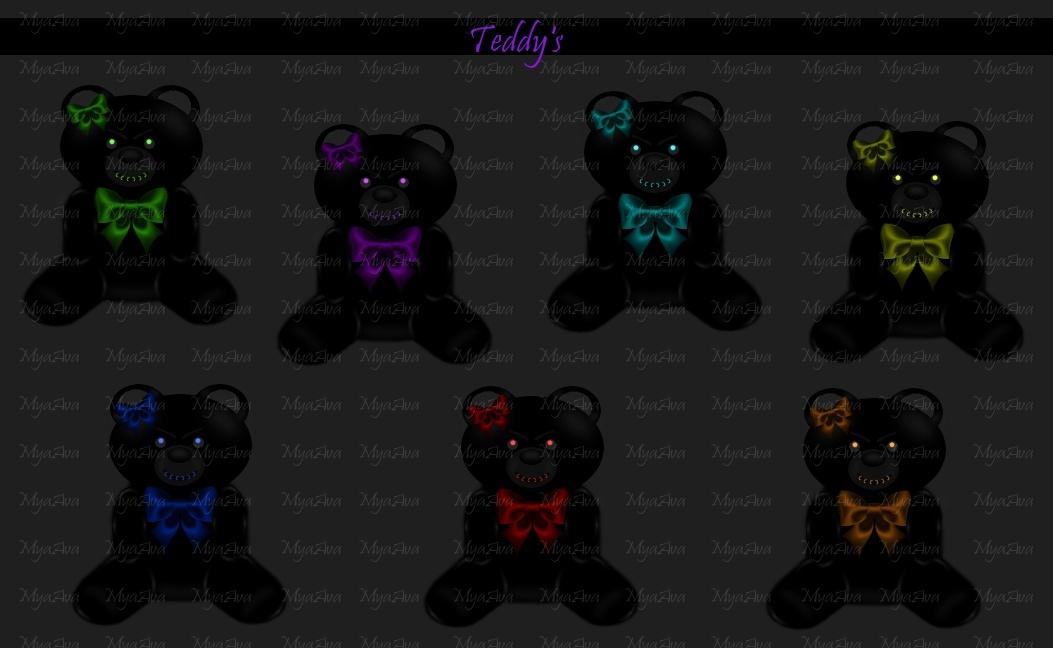 Teddy Bears - Add Ons 2