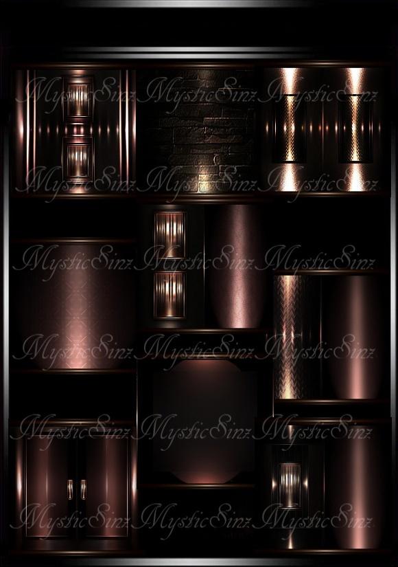 IMVU Ethria Room Collection