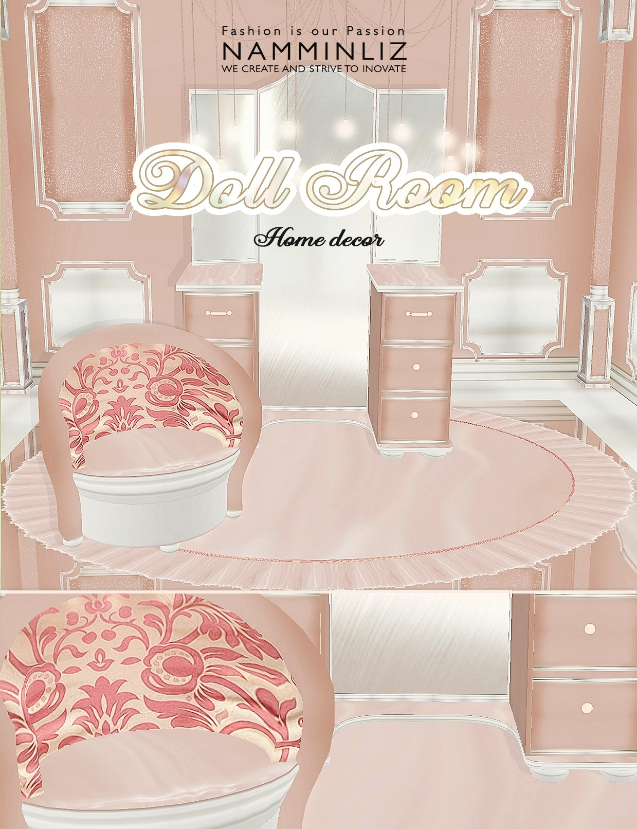 Doll Room 18 Textures PNG imvu home decor
