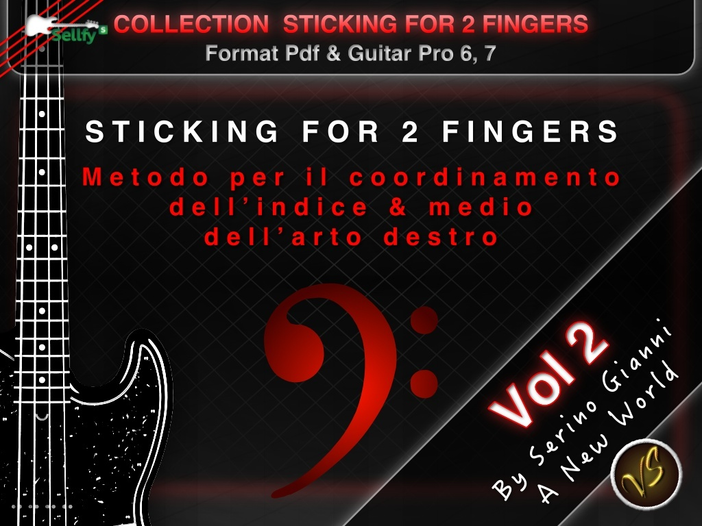 VOL 2 STICKING 2 FINGERS