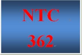 NTC 362 Week 4 Individual LANWAN Paper