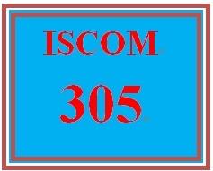 ISCOM 305 Week 3 Case Study