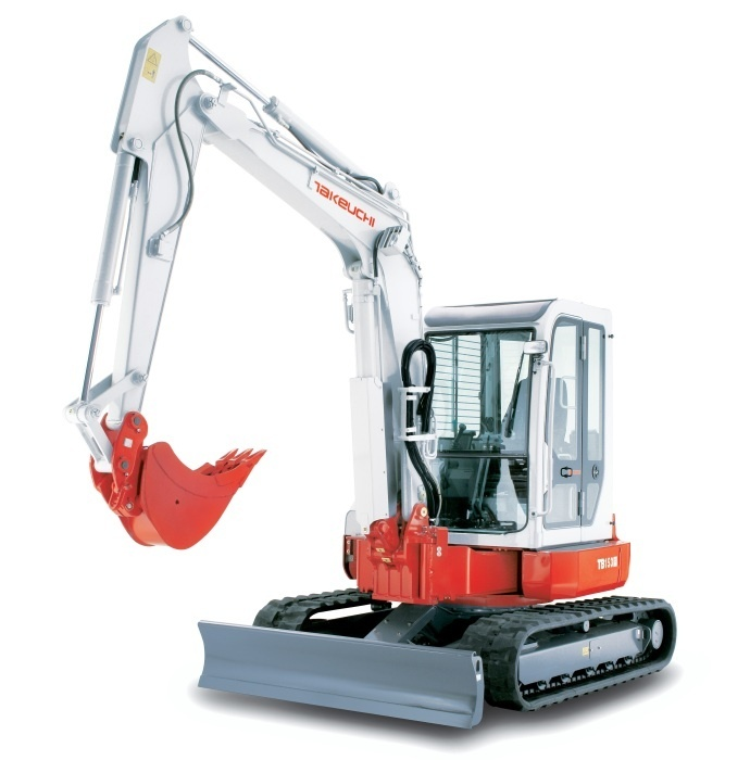 Takeuchi TB153FR Compact Excavator Service Repair Workshop Manual Download(S/N:15830001 & Above)