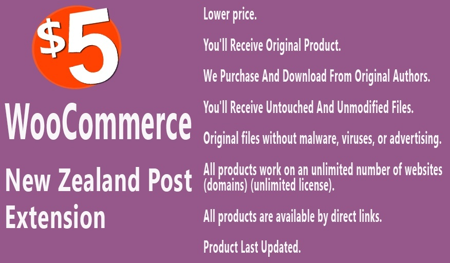 WooCommerce New Zealand Post Extension