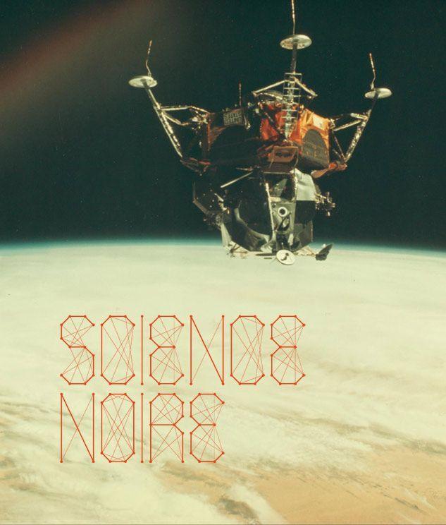 Science Noire font.