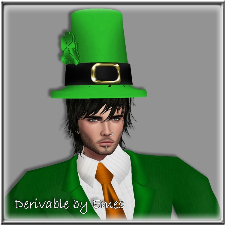 ST.PATRICK'S DAY HAT MESH MALE 2016