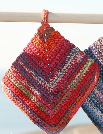 Potholders on the Line
