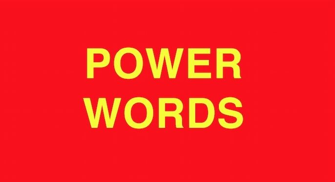 POWER WORDS  Change your life