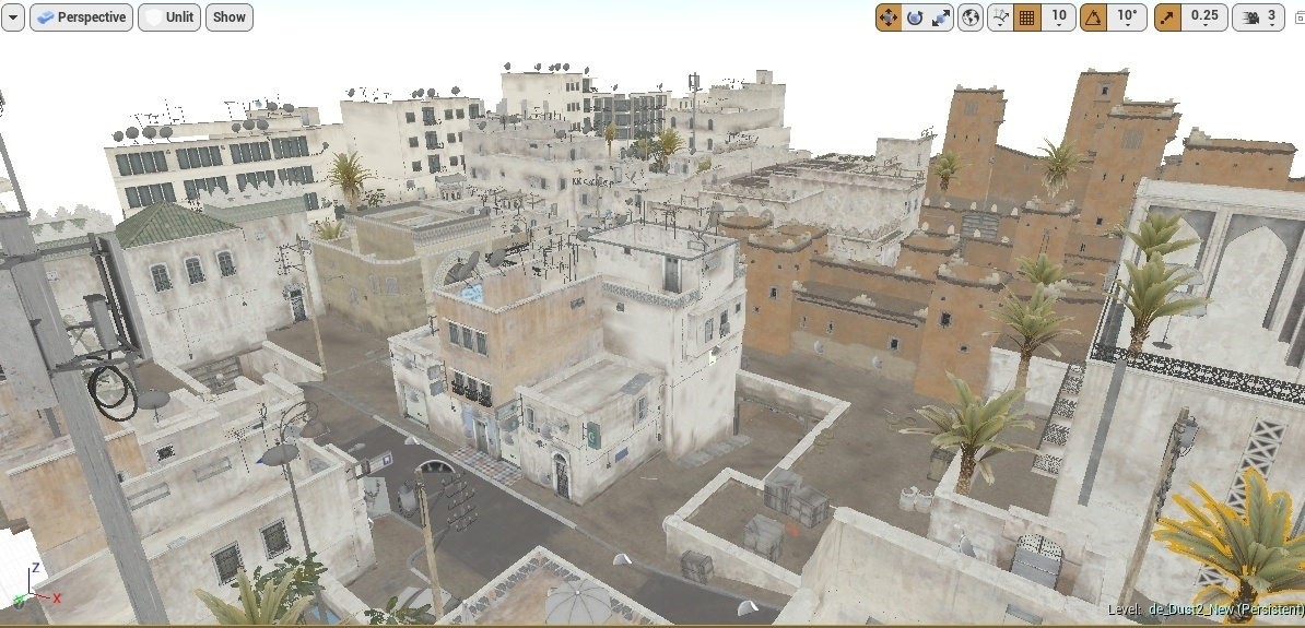 CSGO Competitive Map Pack Service for Unreal Engine 4 & Cinema 4D etc for Video Editing Purposes