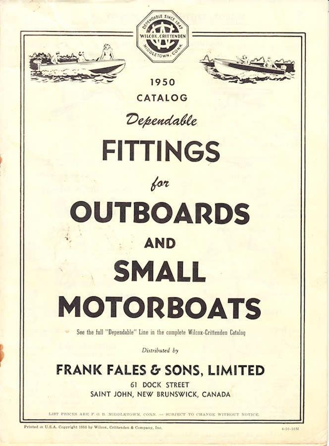 1950 Wilcox Crittenden Catalog
