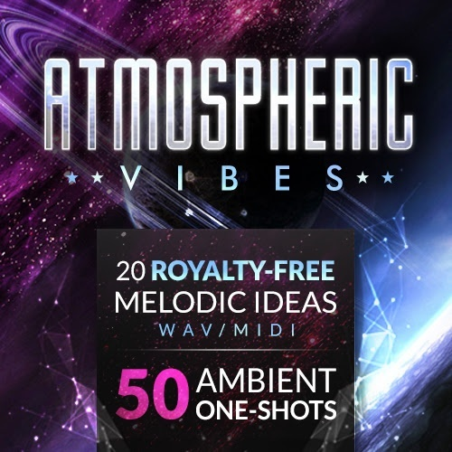 Atmospheric Vibes (WAV/MIDI + One Shots) (Instant Digital Download)