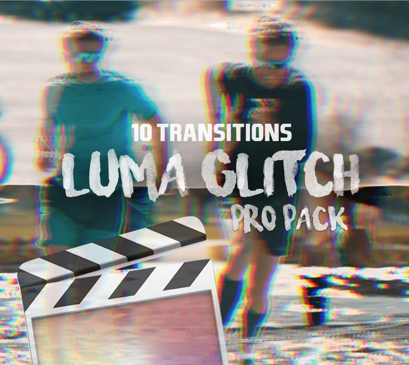 10 Luma Glitch [3D] Transitions - Final Cut Pro X | PRO PACK