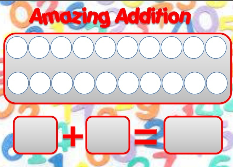 SQUISHY SUBTRACTION AND AMAZING ADDITION MATS