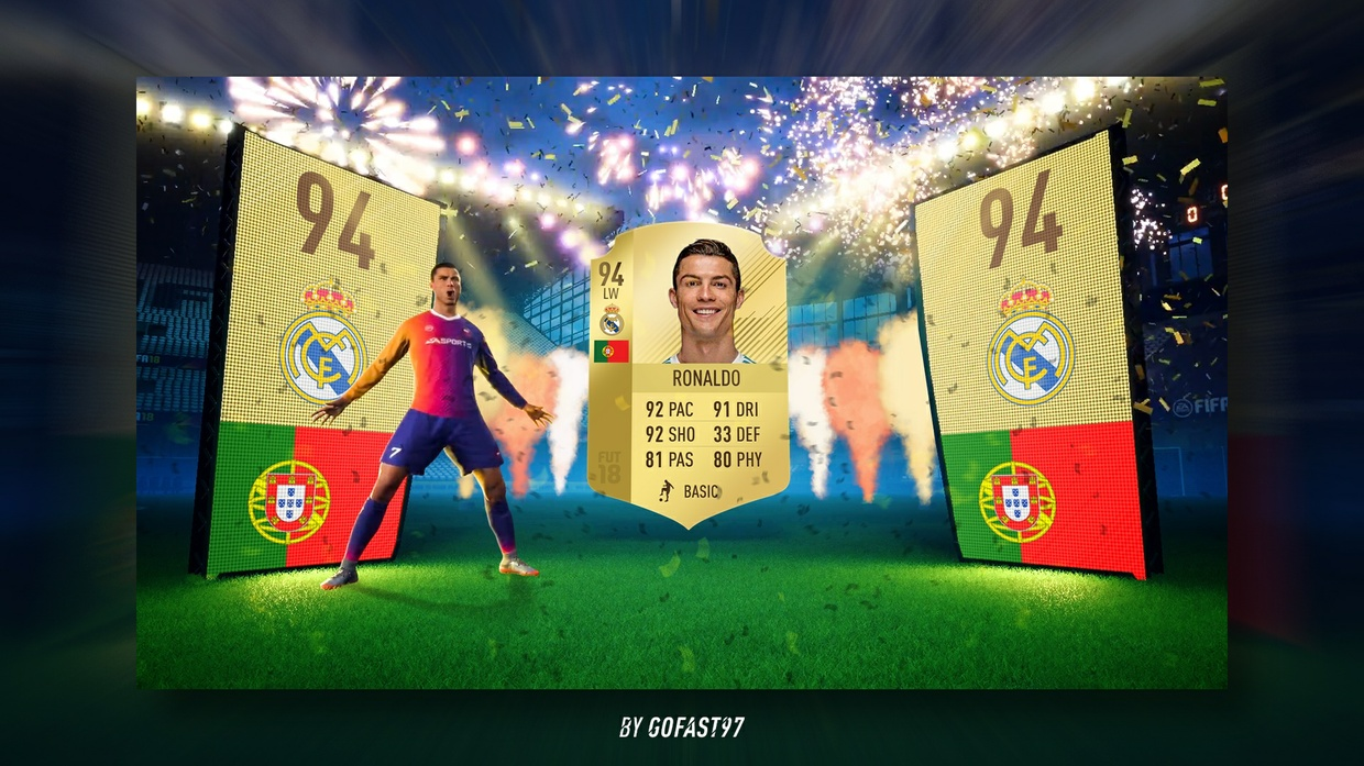 FUT 18 PACK OPENING FULL EDITABLE