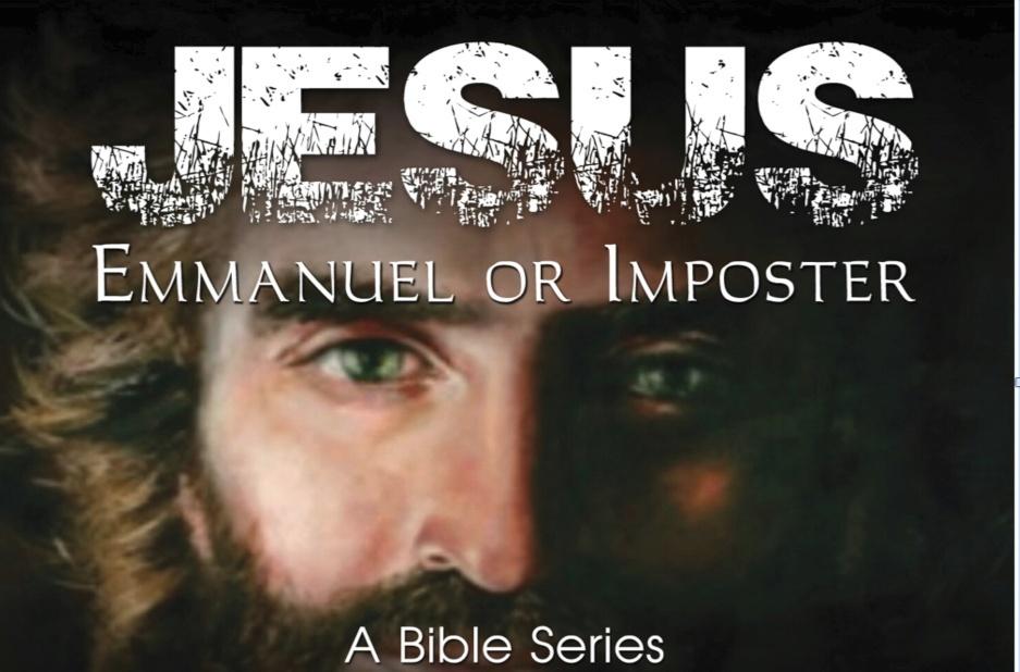 """Pastor Sam Emory 04-23-17pm """" Jesus: Emmanuel or Imposter """" MP3"""