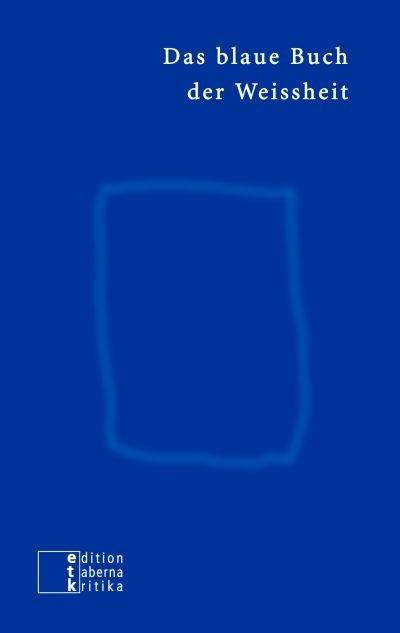 Das blaue Buch der Weissheit