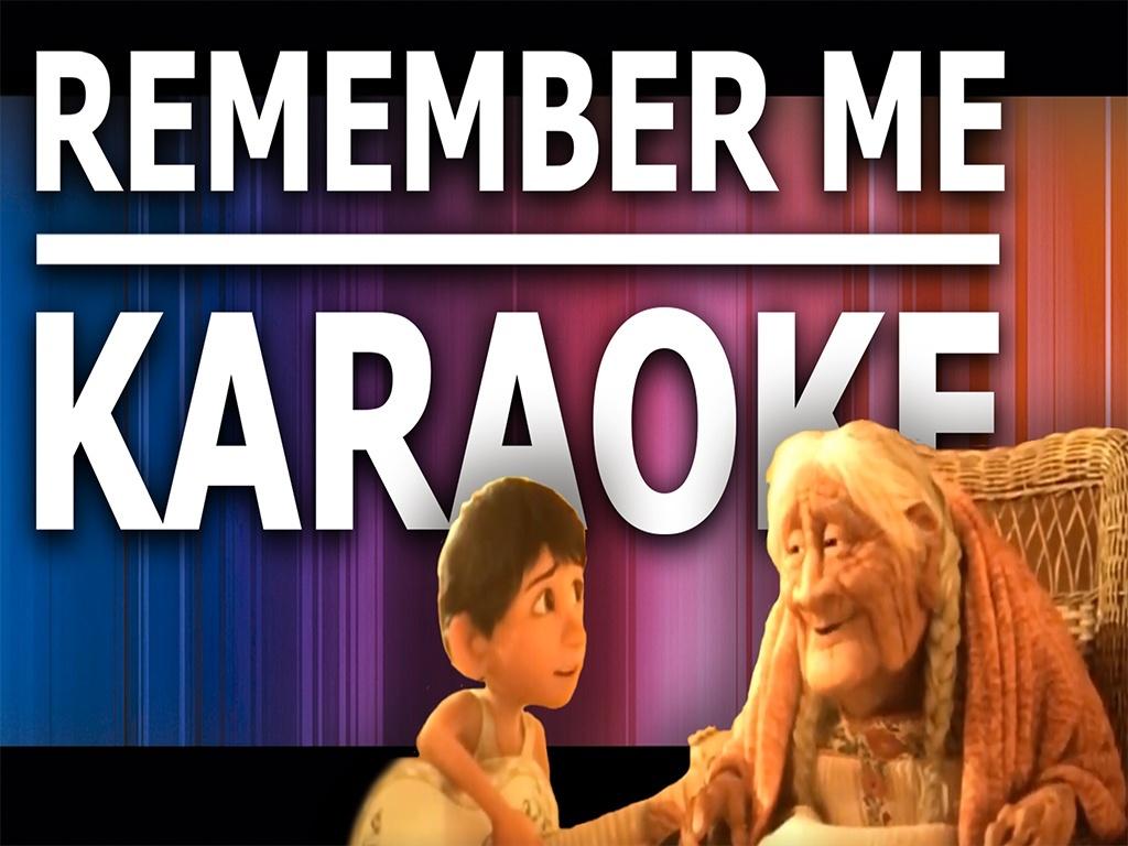 Remember me - Karaoke - Instrumental