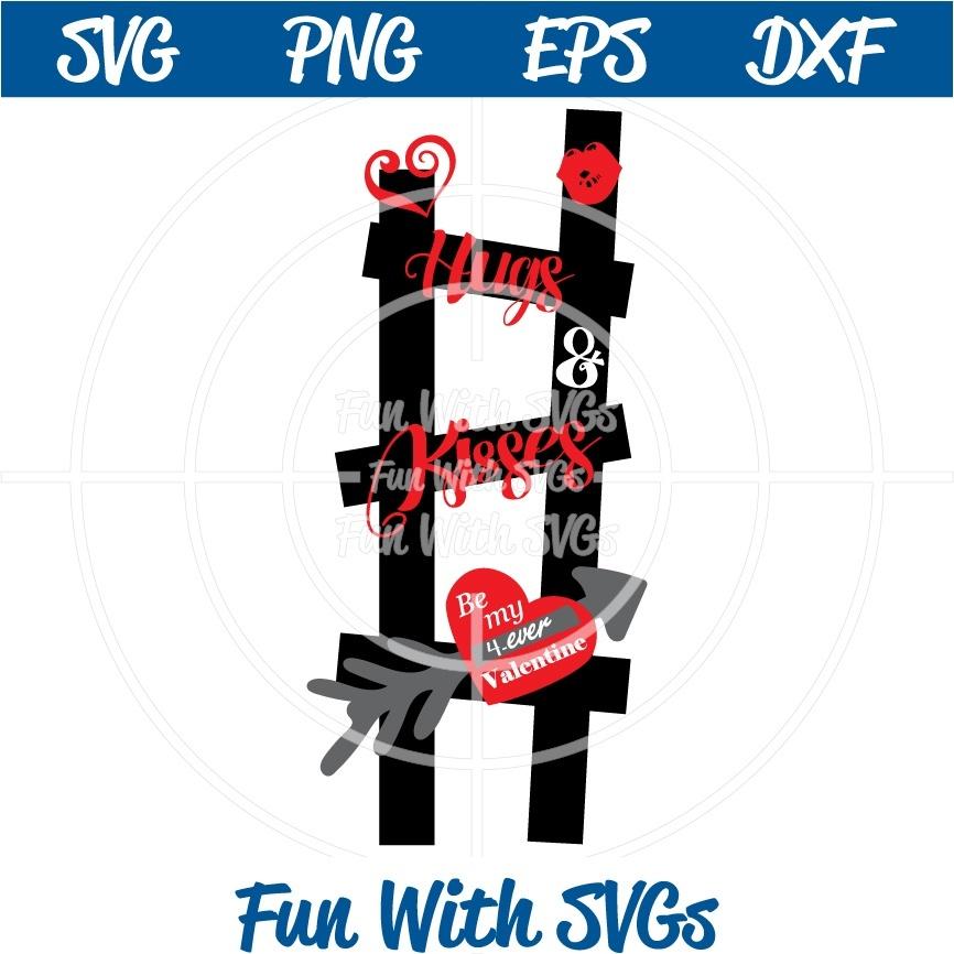 Ladder of Love, Valentine SVG, Valentine Ideas, Cricut, Silhouette, svg files, digital, printable,