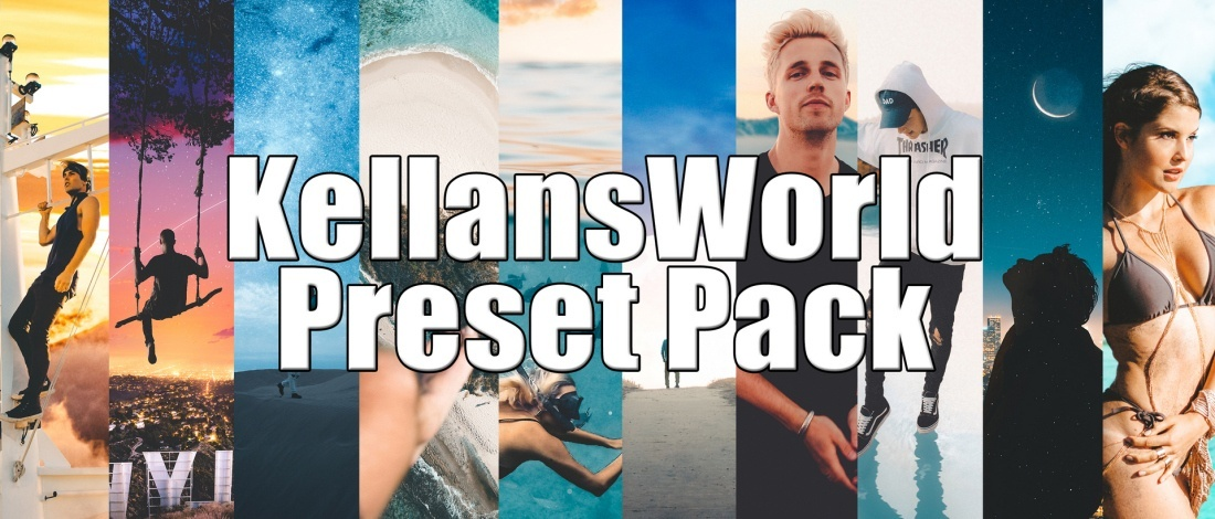 Creator Presets x KellansWorld Lightroom Presets