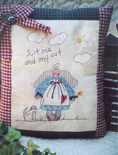 #314 Just Me and My Cat E Pattern