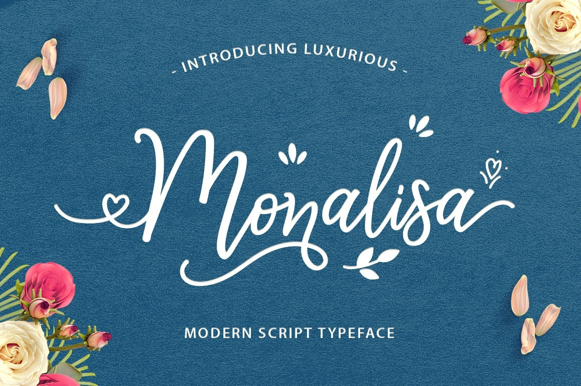 Monalisa Luxurious Font (FREE VERSION)