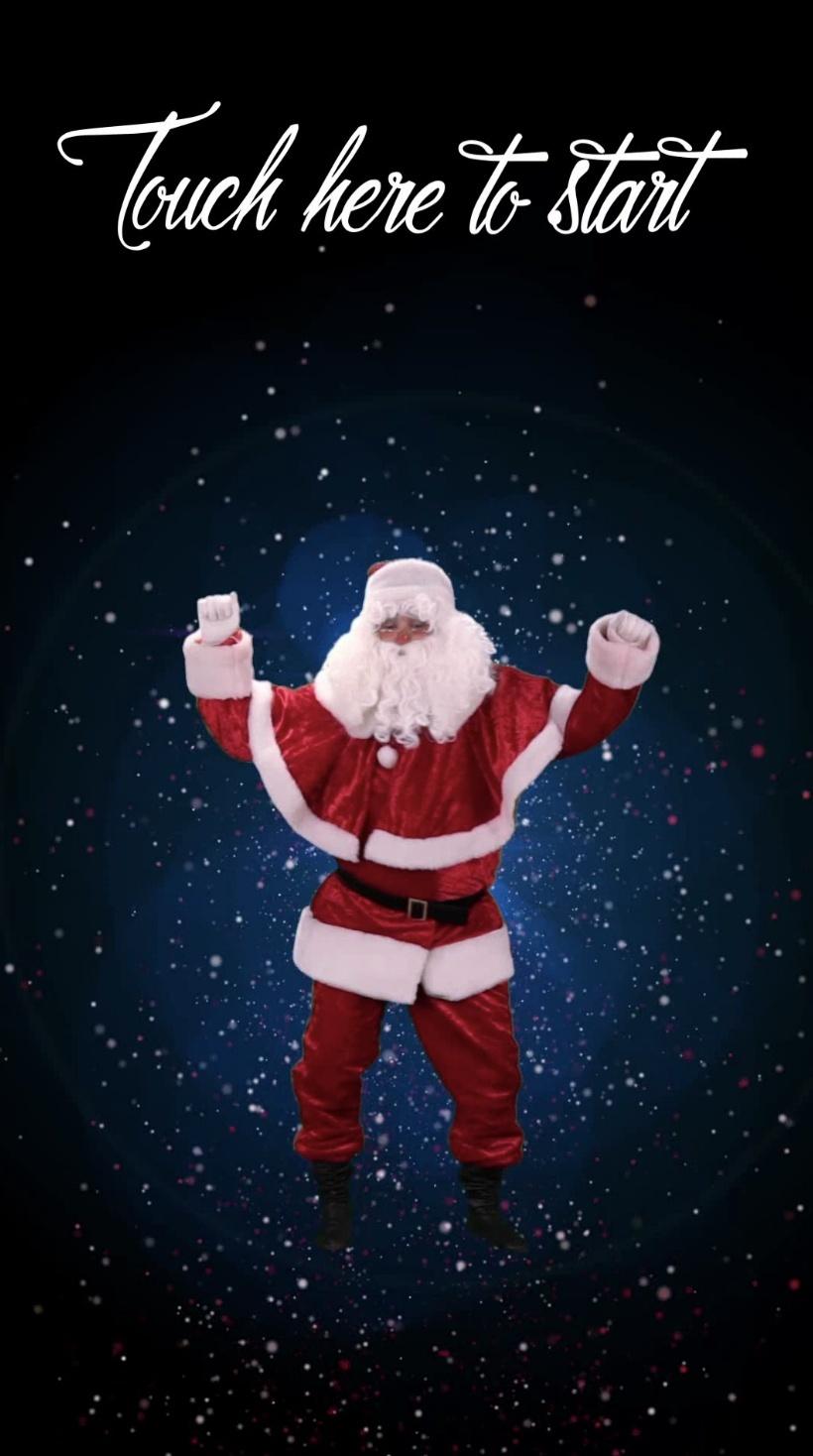 Santa Dance Start Page