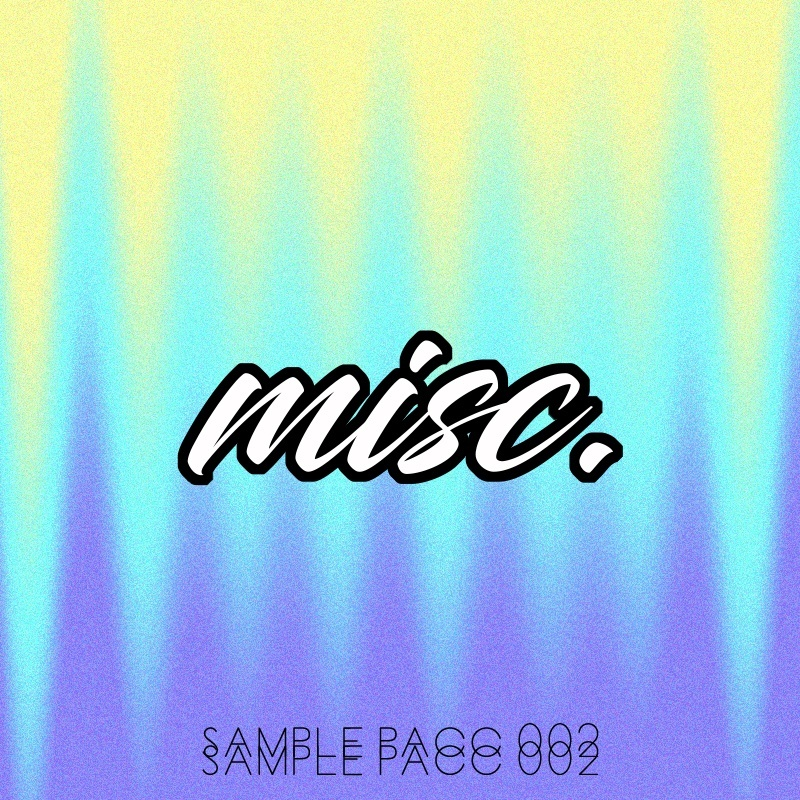 misc. sample pacc vol 002