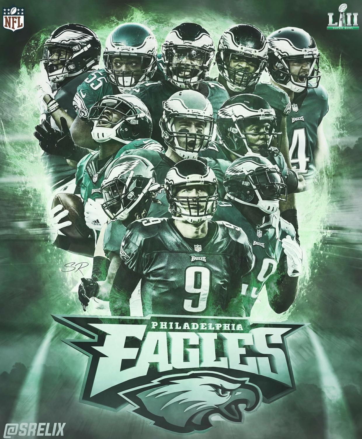 Eagles SB52 Poster PSD