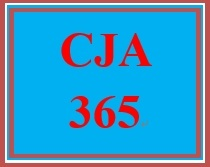 CJA 365 Week 4 Debate: Centralized Budgeting