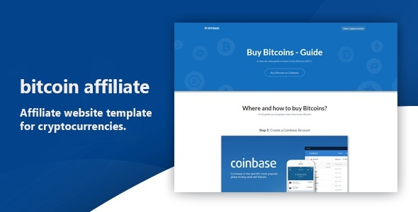 Bitcoin Affiliate Template - HTML
