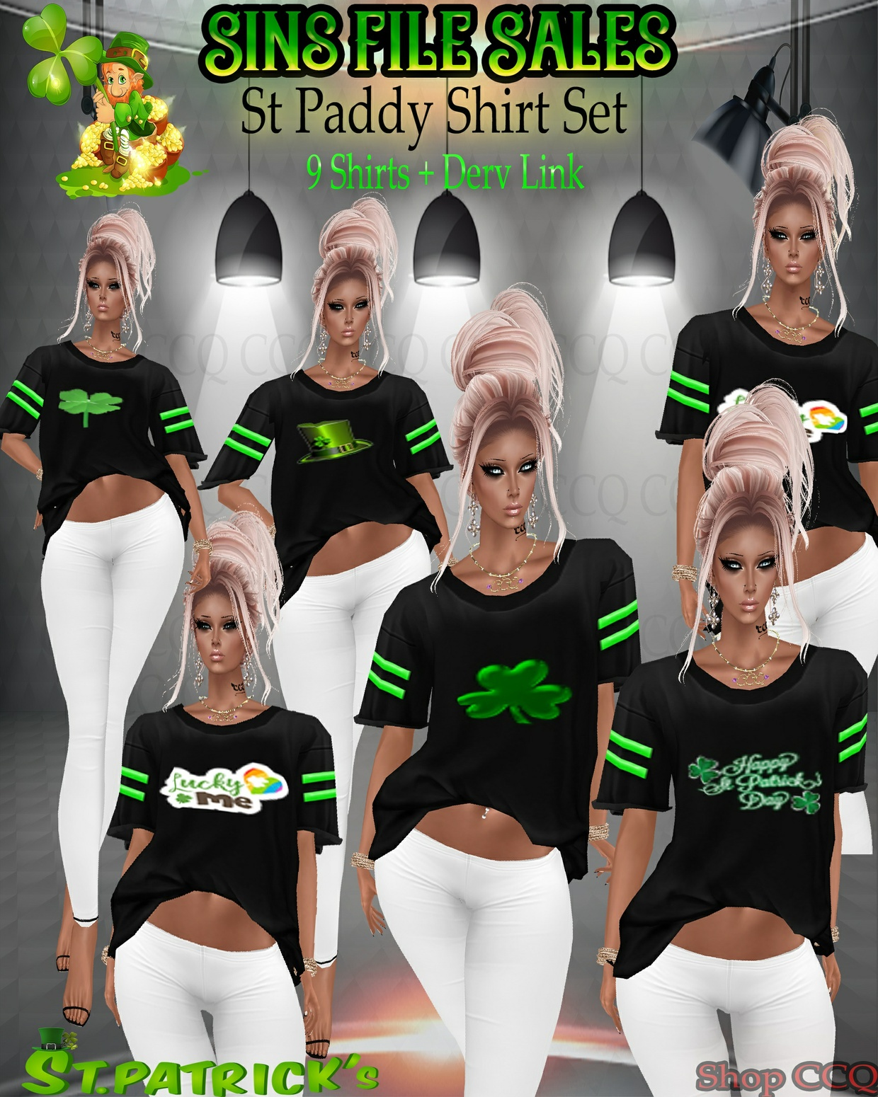 St Paddy's Day Shirt Set *9 Shirts