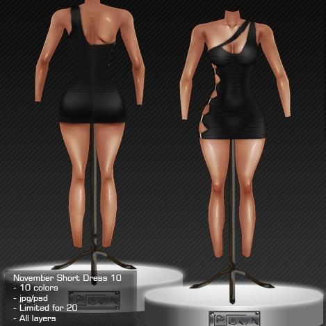 2013 Nov Short Dress # 10