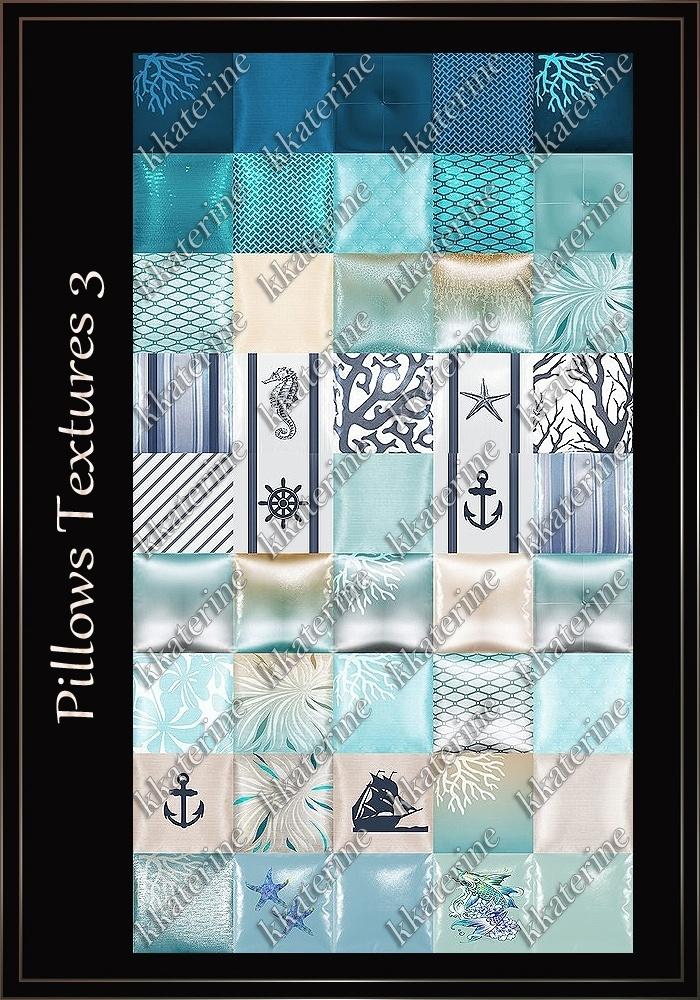 Pillows Textures 3 ~ 45 Textures