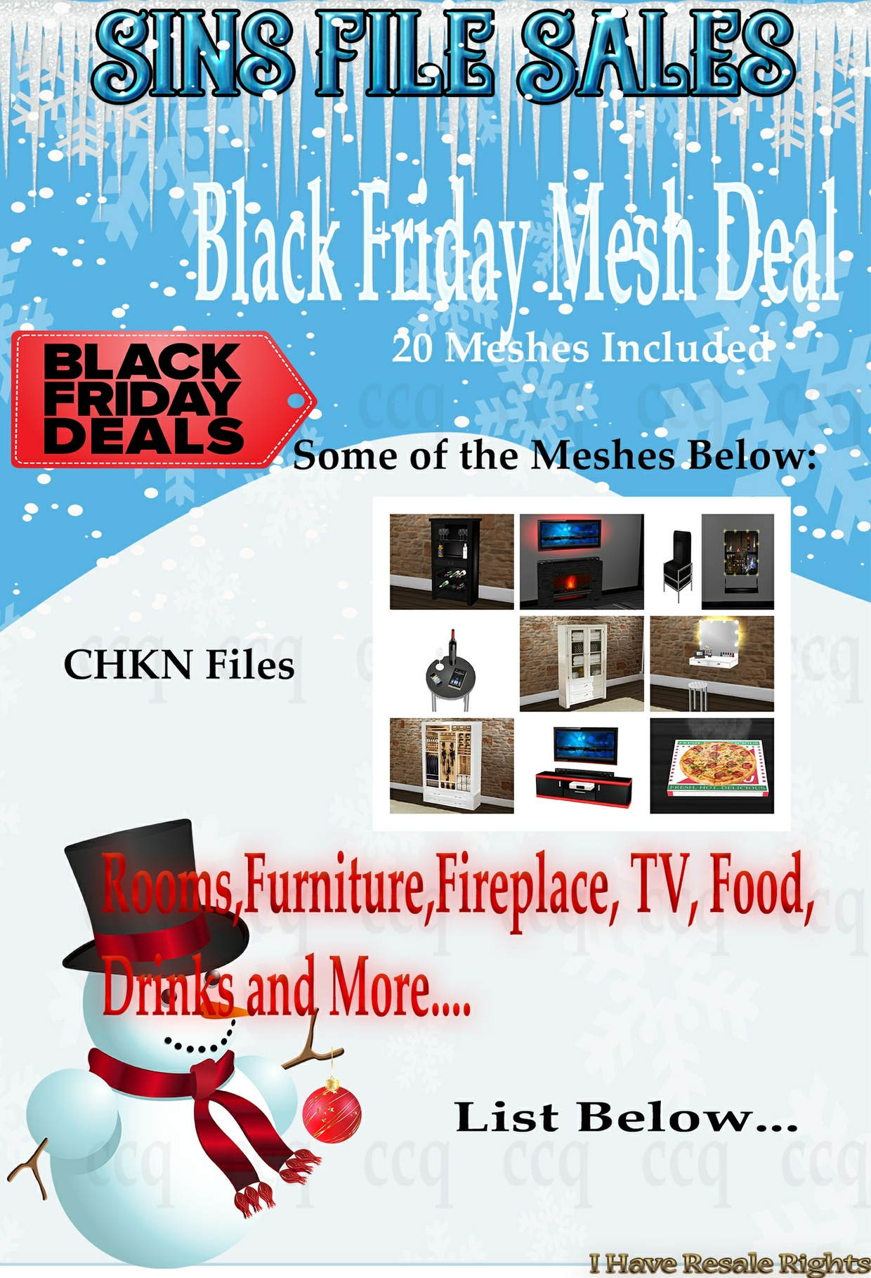 Cyber Monday Mesh Deal *20 Meshes*